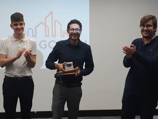 ISOVER entrega el Premio Saint-Gobain de los Trabajos del Máster Eficiencia Energética en la Edificación de la UPM Premio Individual