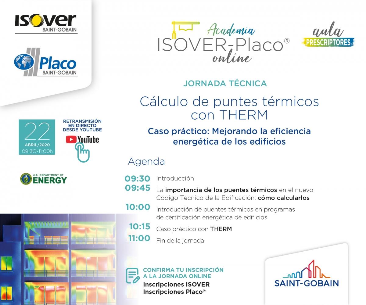 Academia ISOVER: Cálculo de puentes térmicos con THERM Invitacion