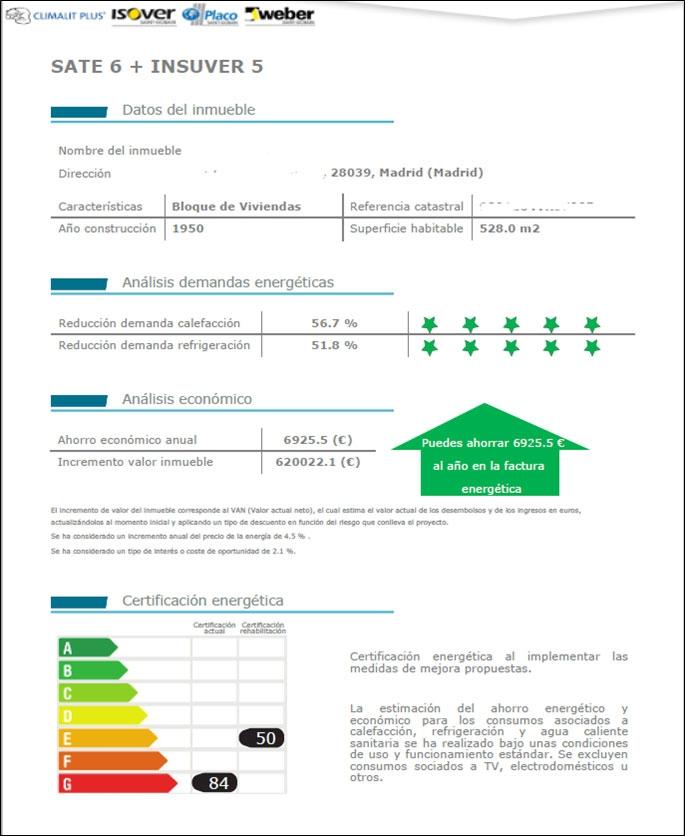 Extracto Complemento Soluciones Saint-Gobain para CE3X descargable en www.isover.es