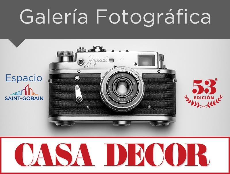 Galería Fotográfica Espacio Sain-Gobain - Casa Decor 2018