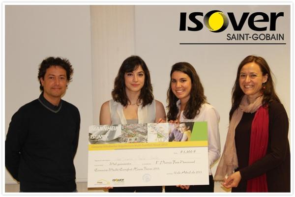 Ganadores Primer Premio Fase Nacional Concurso Multi-Comfort House 2013