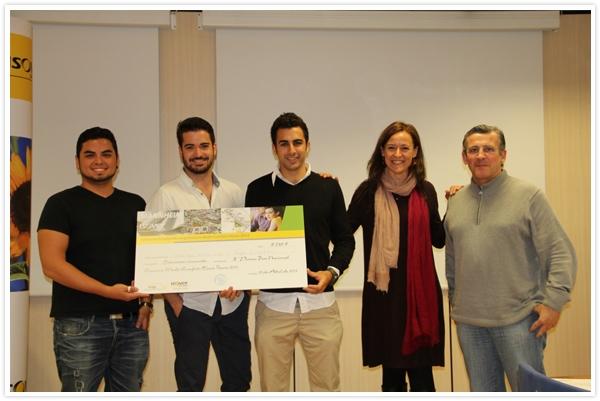 Ganadores Tercer Premio Fase Nacional Concurso Multi-Comfort House 2013