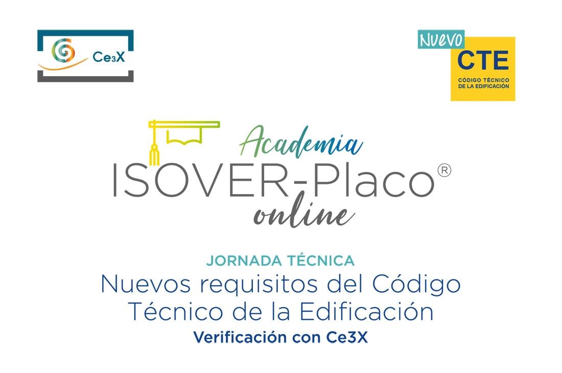 Jornada Técnica: Nuevos requisitos del Código Técnico de la Edificación  Verificación con Ce3X