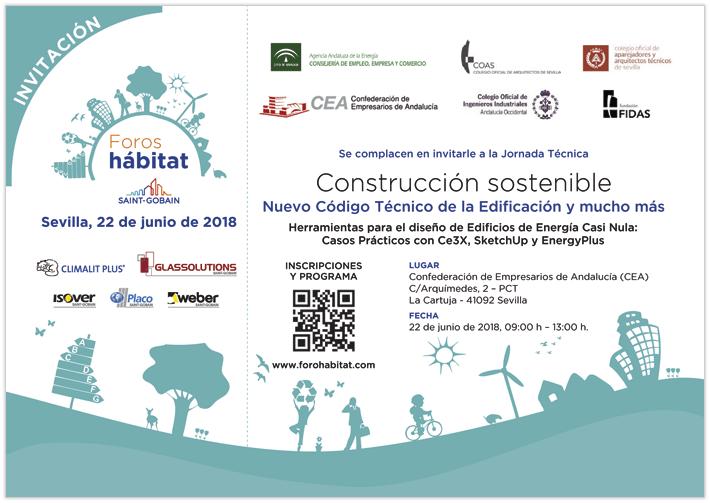 Invitación Construcción Sostenible Andaluacía