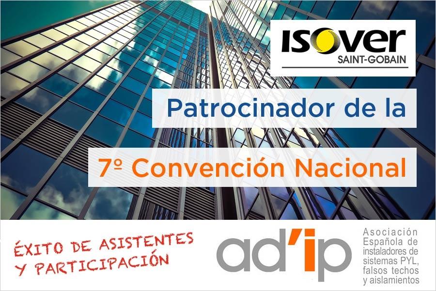 ISOVER Patrocinador de la 7ª Convención Nacional ADIP