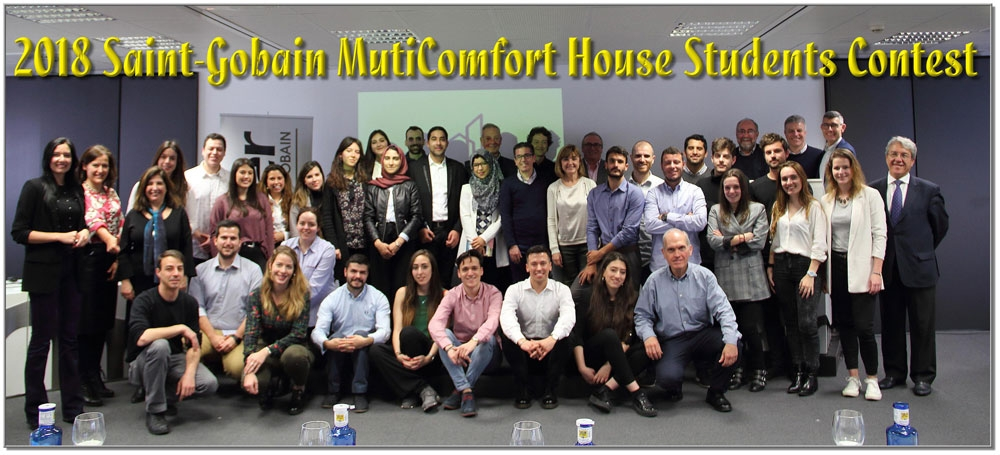 Concurso Estudiantes MultiComfort House 2018 - Fase Nacional - Foto de Grupo
