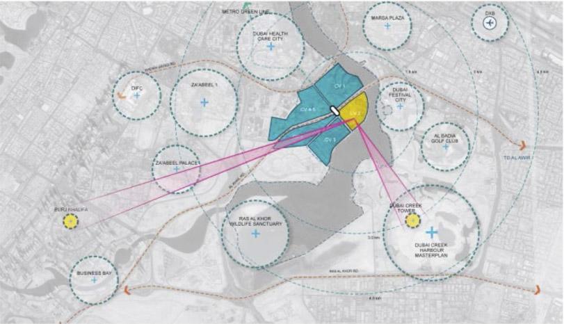 Plano Ubicación de la zona propuesta para el Concurso