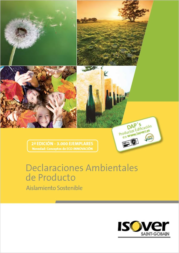 Declaraciones Ambientales de Producto. Aislamiento Sostenible