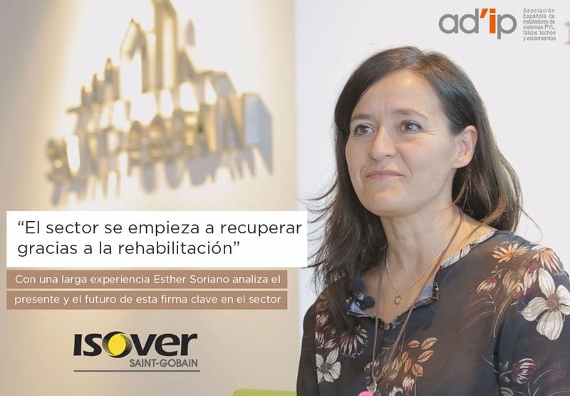 Entrevista Esther Soriano ISOVER Revista Adip