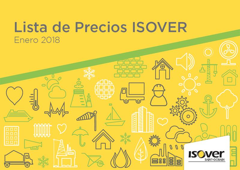 Lista de Precios ISOVER Enero 2018