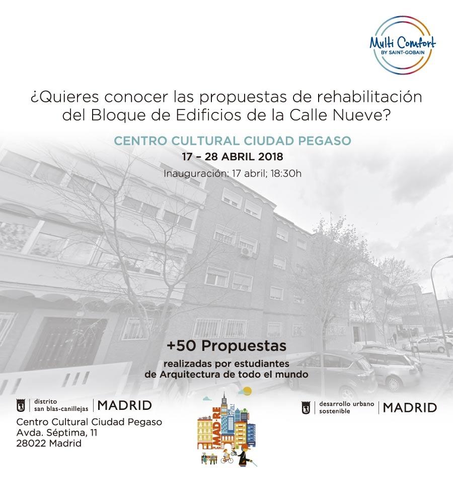 ¿Quieres conocer las propuestas de rehabilitación del Bloque de Edificios de la Calle Nueve?