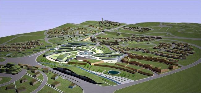Proyecto de Ciudad Ecológica - Concurso Estudiantes MCH 2014