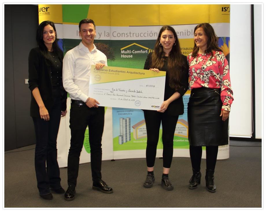 Segundo premio MultiComfort House Fase Nacional 2018