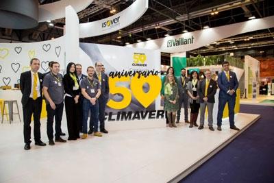 Stand ISOVER en el 50 Aniversario de CLIMAVER