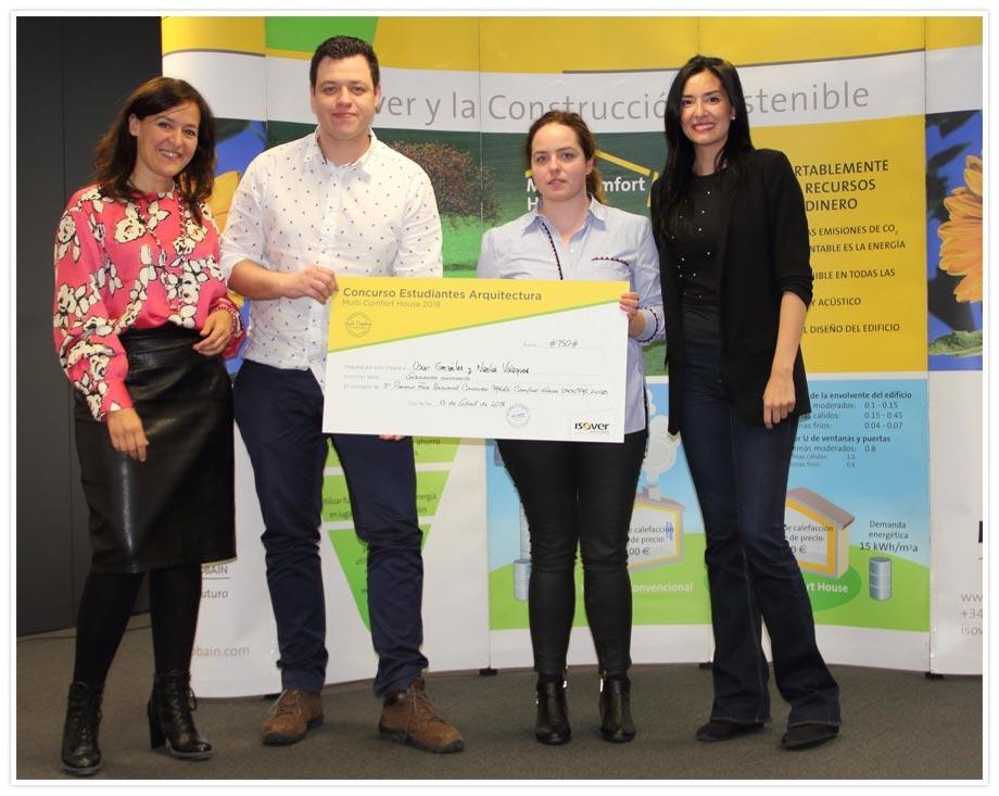 Tercer premio MultiComfort House Fase Nacional 2018
