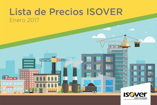 Lista de Precios ISOVER Enero 2017