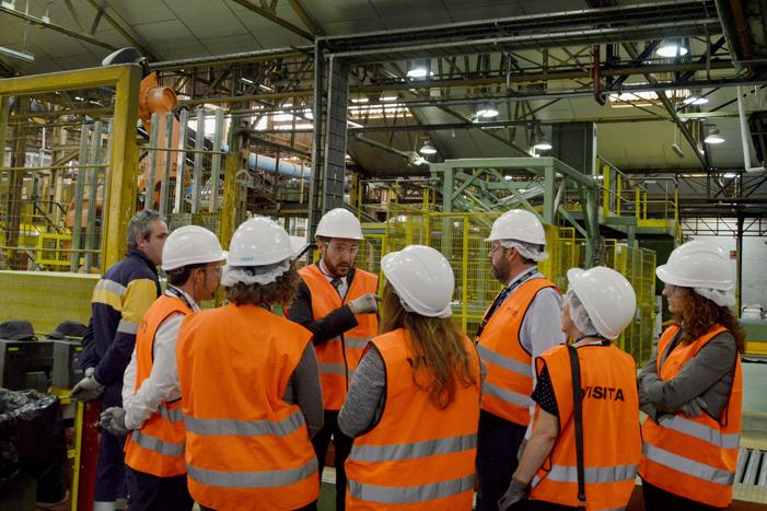 Visita a la fábrica ISOVER Azuqueca de Henares
